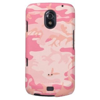 Pink Camo   Girly Camo Samsung Galaxy Nexus Covers