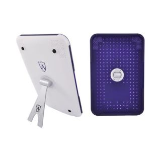 Purple Rubber Hard Plastic Snap Case Cover for  Kindle 3
