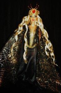 Greek Goddess of Spiders Arachne OOAK Barbie Doll Mythology