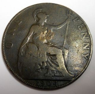 Great Britain 1904 One Coin King Edward VII