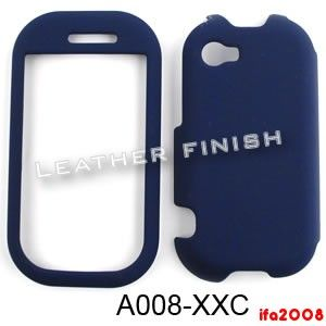 For Kin Two TWOm 2 Sharp Microsoft Navy Blue Rubberized Case Cover