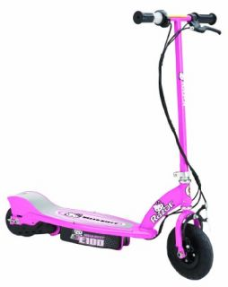 Razor E100 Kids Electric Scooter Hello Kitty Pink New