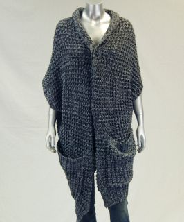 Patterson J Kincaid New Womens Gray Sweater Cardigan S