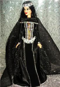 Le Fey Barbie Doll OOAK Renaissance Faye Magician King Arthur