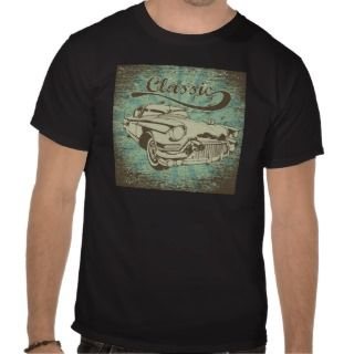 Car ~ Vintage Classic Automobile Hot Rod T Shirts