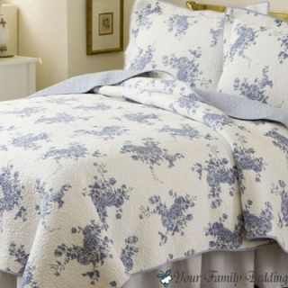 Rose Twin Full Queen King Size Quilt Cotton Bed Bedding Set