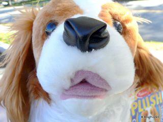 Realistic 18 Stuffed Cavalier King Charles Spaniel Dog