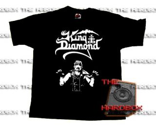 King Diamond T Shirt Mercyful Fate Melissa Abigail RARE
