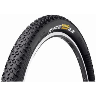 Continental Race King RS 26 x 2.0 inch black folding MTB XC Bike Tyre
