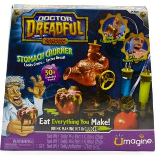 Zombies Stomach Churner Drink Making Maker Kit Belly Mix Gross