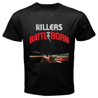 The Killers Battle Born 2012 New Album Black T Shirt s M L XL XXL XXXL