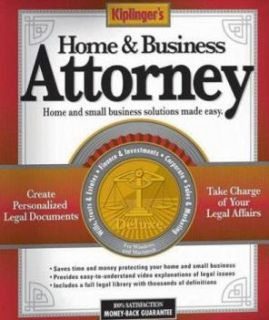 Kiplingers Home Business Attorney PC CD Legal Tools