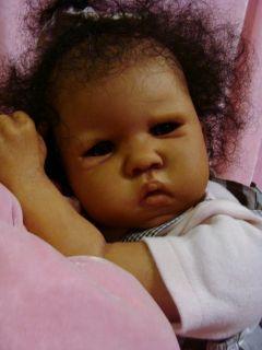 Precious Reborn Ethnic Biracial Reborn Baby Girl Kira