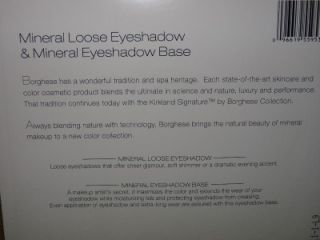 Kirkland Signature Borghese Mineral Loose Eyeshadow & Mineral Base Set