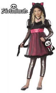 Skelanimals Kit The Cat Child Halloween Costume 00294