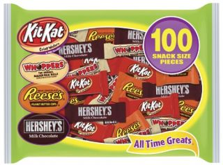 Assortment Milk Chocolate Whoppers Kit Kat Reeses 100 Pieces