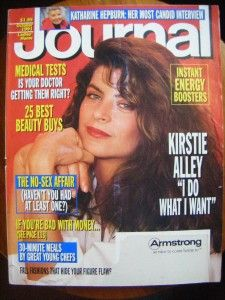 Ladies Home Journal Magazine Oct 1991 Kirstie Alley