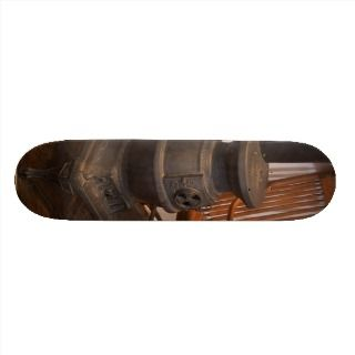 Pot Belly Stove Skate Deck