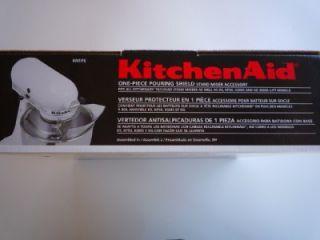 KitchenAid Kitchen Aid Pouring Shield Stand Mixer Attachment KN1PS