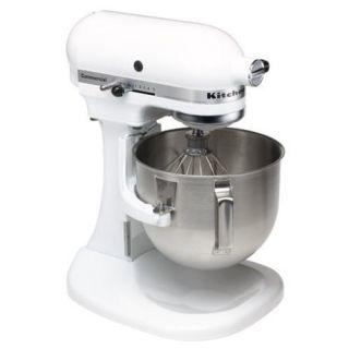 KitchenAid KM25G0XWH Commercial Series 450 Watts Stand Mixer White