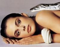 Avedon Poster of Nastassja Kinski with Snake Serpent