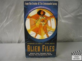 Alien Files VHS Jack Perry Kira Reed Gabriella Hall 619935002531