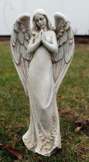Praying Angel Statue Outdoor Lawn Garden Decor