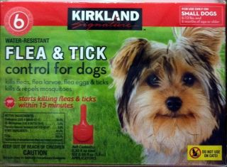 Kirkland Signature Flea Tick Control for Small Dogs 6 Month Supply
