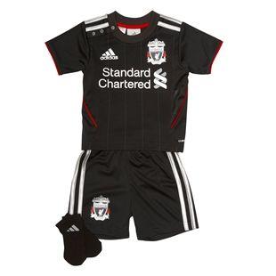 Liverpool Adidas Baby Toddler Away Full Soccer Football Jersey Shirt