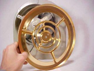 Metal Exhaust Fan Grille Aluminum Air Care Aubrey Nautilus ...