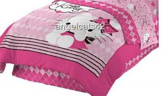 Hello Kitty Full Size Comforter Bed in A Bag