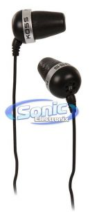 Koss The Plug 156407 in Ear Earbud Monitor Headphones w OFC Voice