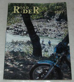 Rider Touring Motorcycle Magazine Suzuki GS 750E Klamath River