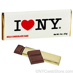 Milk Chocolate Bar (pack of 3 bars), New York Gift Baskets and Favors