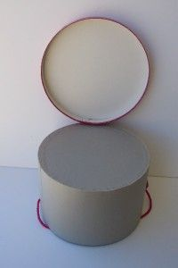 Midcentury Vintage Pink Hat Box Vincent de Koven