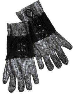Medieval Renaissance Knight Costume Chain Mail Gloves