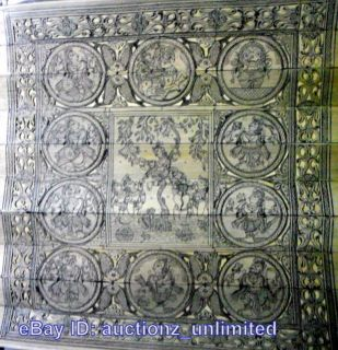 Pattachitra Lord Krishna Dashavatar Vishnu Geetagovinda Verses India