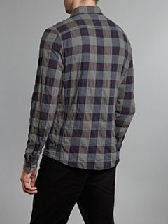 Firetrap Two pocket checked shirt Blue