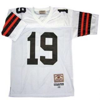 Bernie Kosar 19 Cleveland Browns Throwback White Sewn Mens Size Jersey