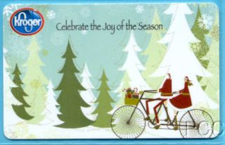 Kroger Celebrate The Joy of The Season 2011 Gift Card