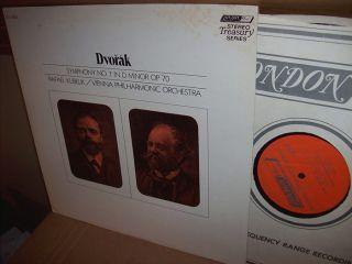Rafael Kubelik Vienna Phil 60s Dvorak Sym 7 Op 70 UK ffrr Stereo LP