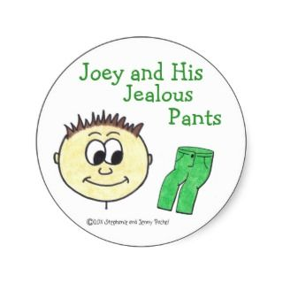 Joey and His Jealous Pants sticker