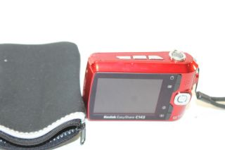 Kodak EasyShare C143 12MP Red Digital Camera