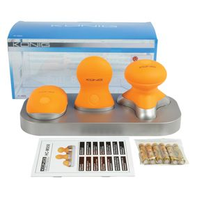 König Full Body Massager Water Resistant 3 Piece Kit with Nice Stand