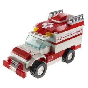 Transformers Kre O Kreo Lego Ratchet Rachet Autobot Robot Ambulance