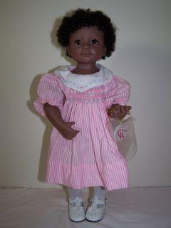 Cute 16 Black AA Vinyl Julie Good Kruger Doll