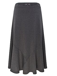 Eastex Dark grey ponte skirt Grey