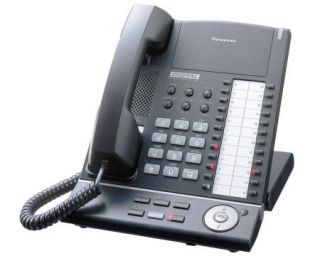 Panasonic KX T7625 Digital Proprietary Telephone Black 037988850518