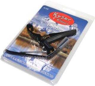 Kyser® Quick Change Acoustic/Electric Guitar Capo (Black)   Brand