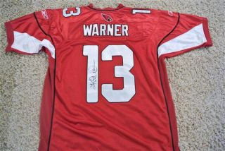 Kurt Warner Signed Arizona Cardinals Jersey NFL Size 52 w GAI COA Hot